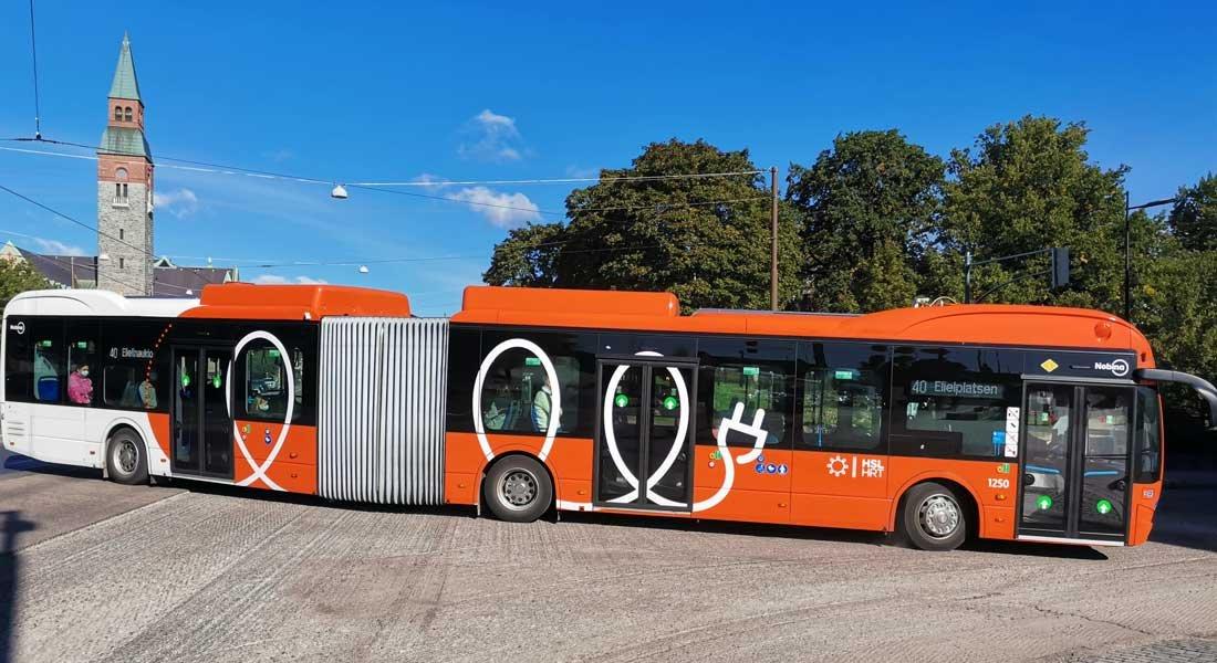 Suurin osa rekisteröidyistä linja-autoista sähkökäyttöisiä