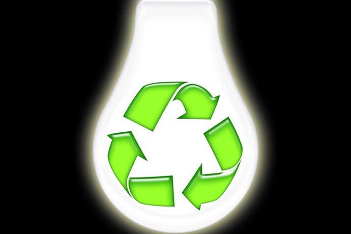 Lamppujen oikea kierrättäminen täydentää säästön
