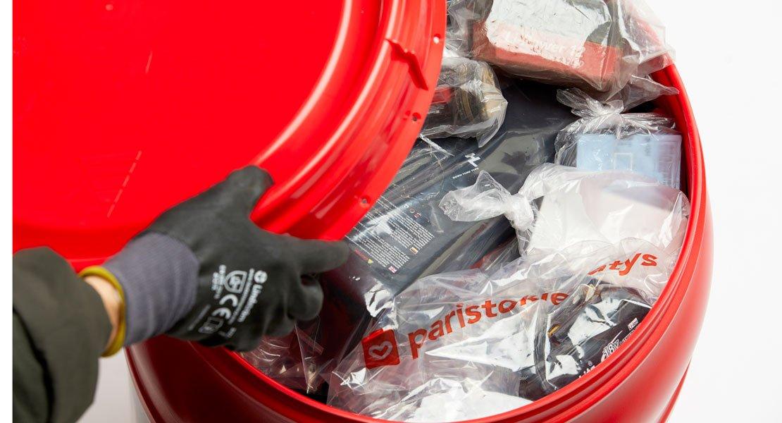 Kierrätä akut ja paristot turvallisesti